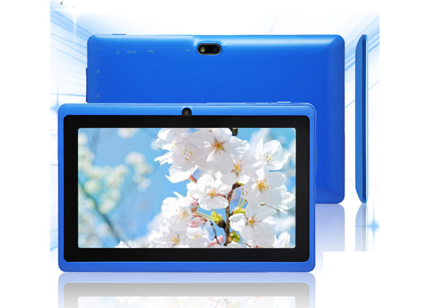 "New 7"" inch Android 4.4 Quad Core Tablet PC MID 8GB 2 camera Wifi Bluetooth"