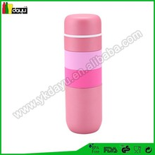2015 high quanlity new design thermos flask acrylic straws bpa free