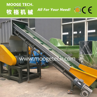 pet bottle flakes recycling line with good service