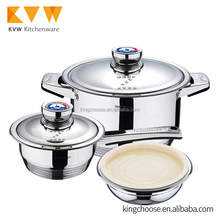 Trendy italian free stainless steel prestige non-stick cookware set