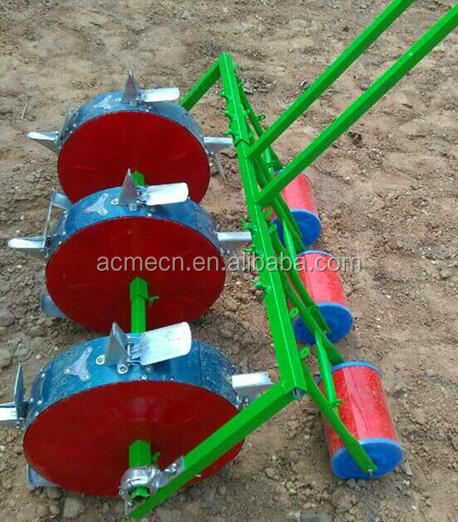 Agriculture machinery seeders fertilizer and seed spreader manual corn seeder