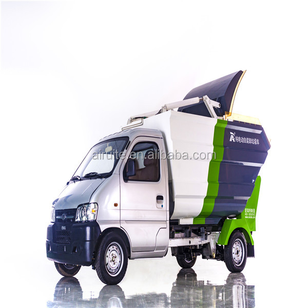2 tons capacity garbage trucks good quality