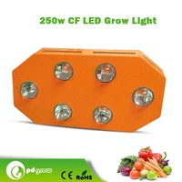 aluminum lamp body material and led light source ultra thin 600w flat led grow light for home