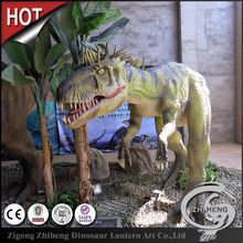 Wonderful life-size simulation dinosaur robots are made in China