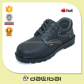 high quality genuine buffalo leather outdoor heavy duty used labor safety shoes for men