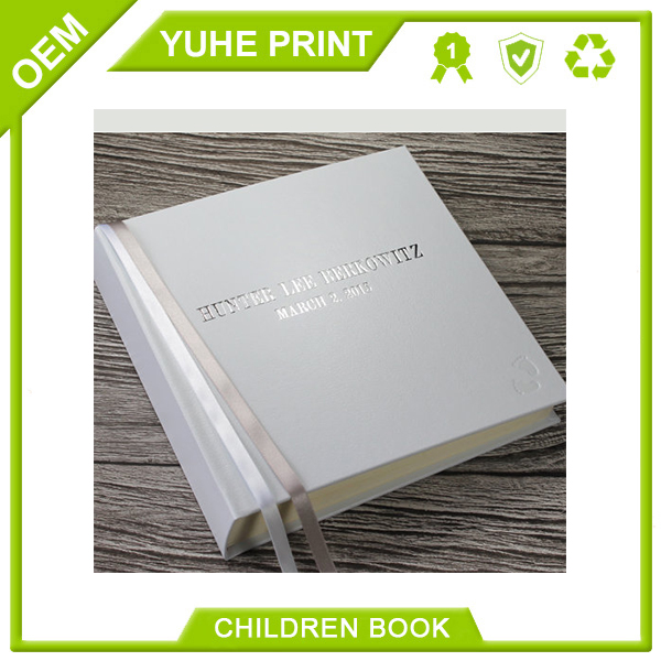 Environmental protection style new softcover baby record book with matt finishing