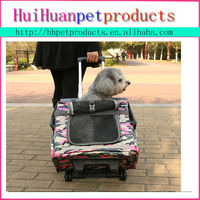 Wheel Pet / Dog/cat Travel Carrier Stroller Backpack Airline dog carrier