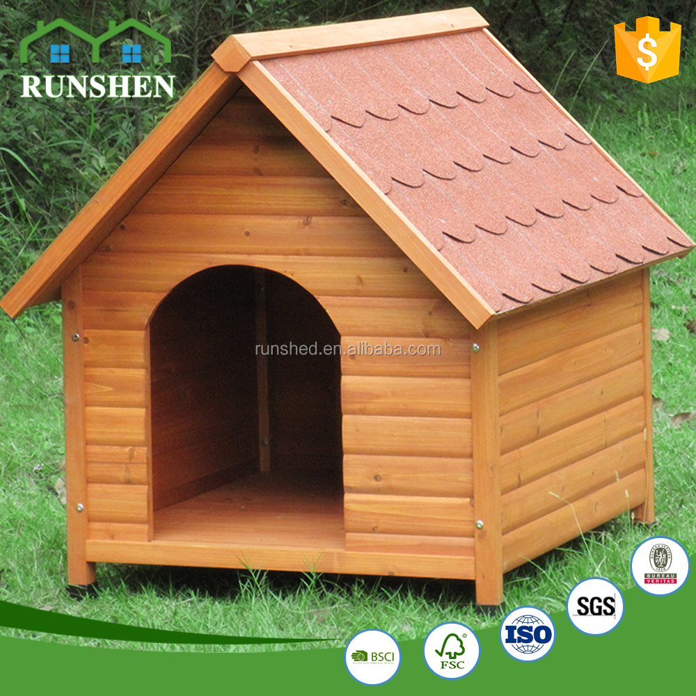 Outside Furniture Easy Moved Wooden Dog House For Kennel