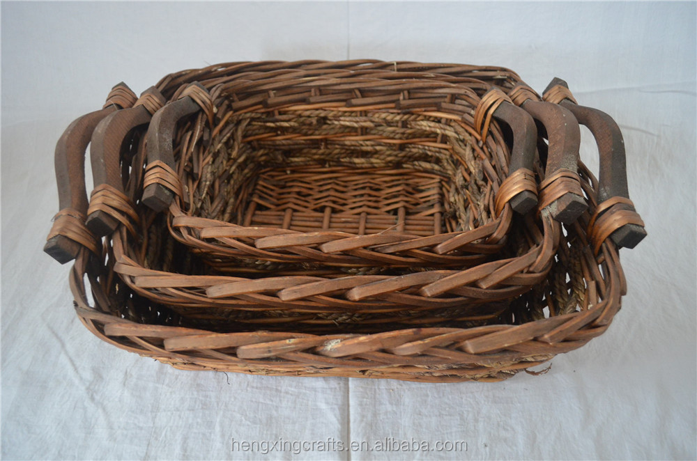 hot-sale willow picnic basket set