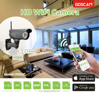 High quality 720p hd WiFi camera motion activated security recordable camera