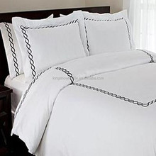 Embroidery Pillow Case for hotel bedding