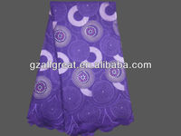 2013 high quality swiss voile lace/swiss embroidery cotton lace