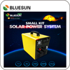 Bluesun dc 12volt 100w solar power home lighting system