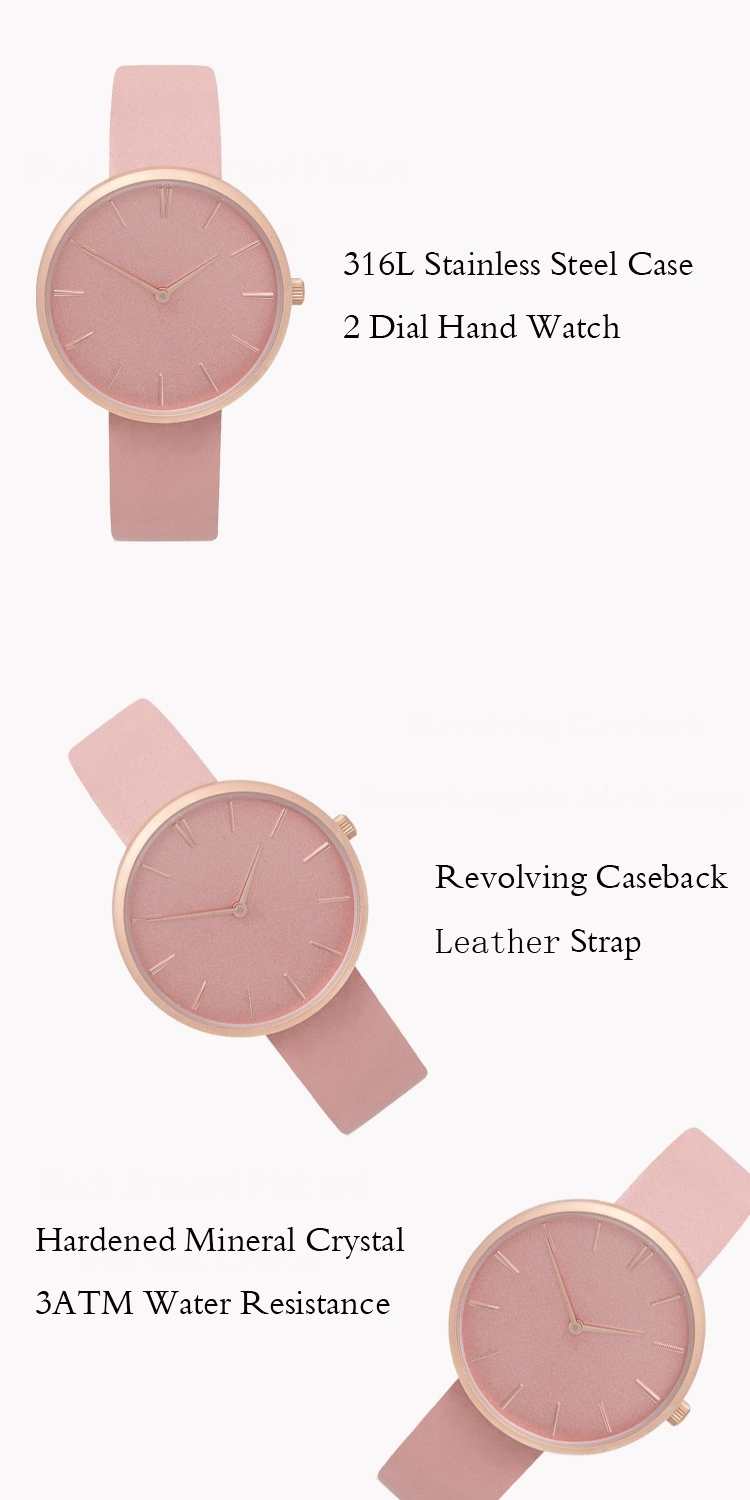Leather Watch Strap Wristwatches Women Watch