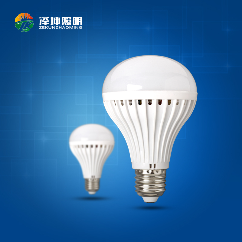 Factory directly sell AC220V LED Bulb Plastic Lamp LED light Bulb 5W E27 B22