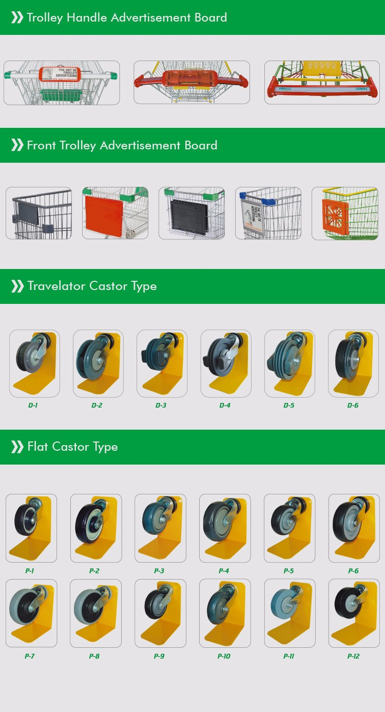 coin operated trolley lock shopping trolley accessories