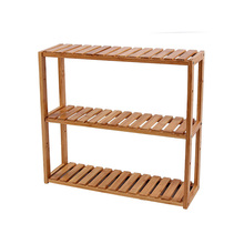 Bamboo Bathroom 3 Tier Free Rack Toy Storage <strong>Shelf</strong>
