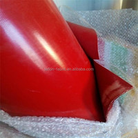 Industrial use silicon rubber coated fiberglass fabric cloth, heat resistant silicone sheet, supplier