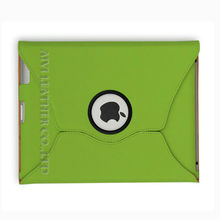 Hot Sell 360 Rotating PC+PU case for iPad Mini in Light green