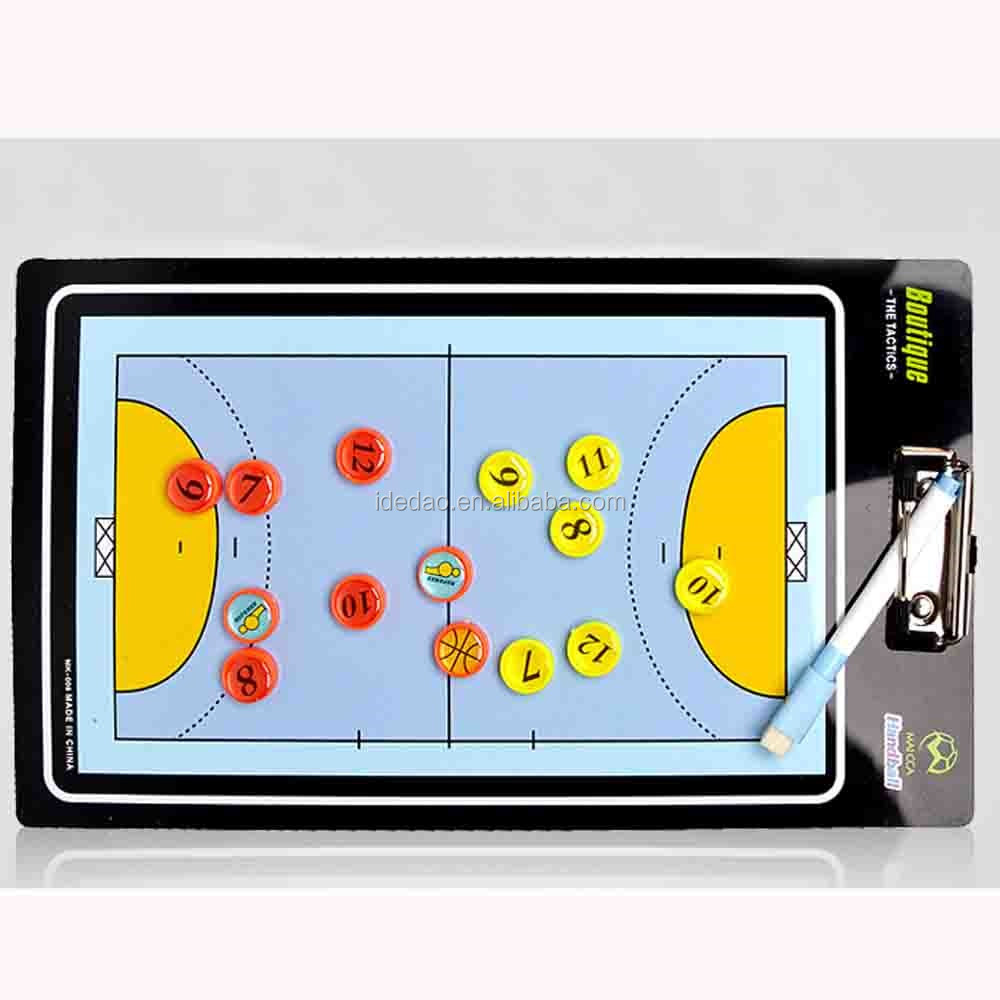 Handball tactics board pvc Football tactic board Training Coach Tactic Board