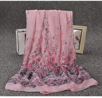 china supplier 180*90cm fashionable floral print lightweight cotton voile scarf shawl,arab hijab scarf in stock