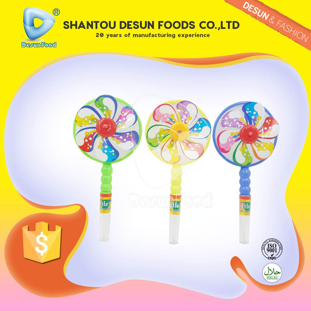2017 new toy candy windmill toy with sweet
