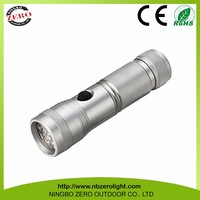 Top Quality Promotion Custom Metal 14 LED Tactical Led Torch Flashlight