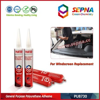 PU8730 Good Qulity Factory Price RTV Aluminum Door And Window Car Windshield Silicone Auto Glass Adhesive Sealant