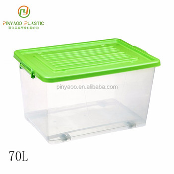 70L Top quality multi-purpose plastic toy storage box