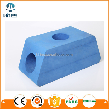Medical eva block / line cut shaped eva Anti-skid with customized YOGA BLOCK/ YOGA BRICK