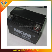Good performance motorcycle battery 12v 9ah