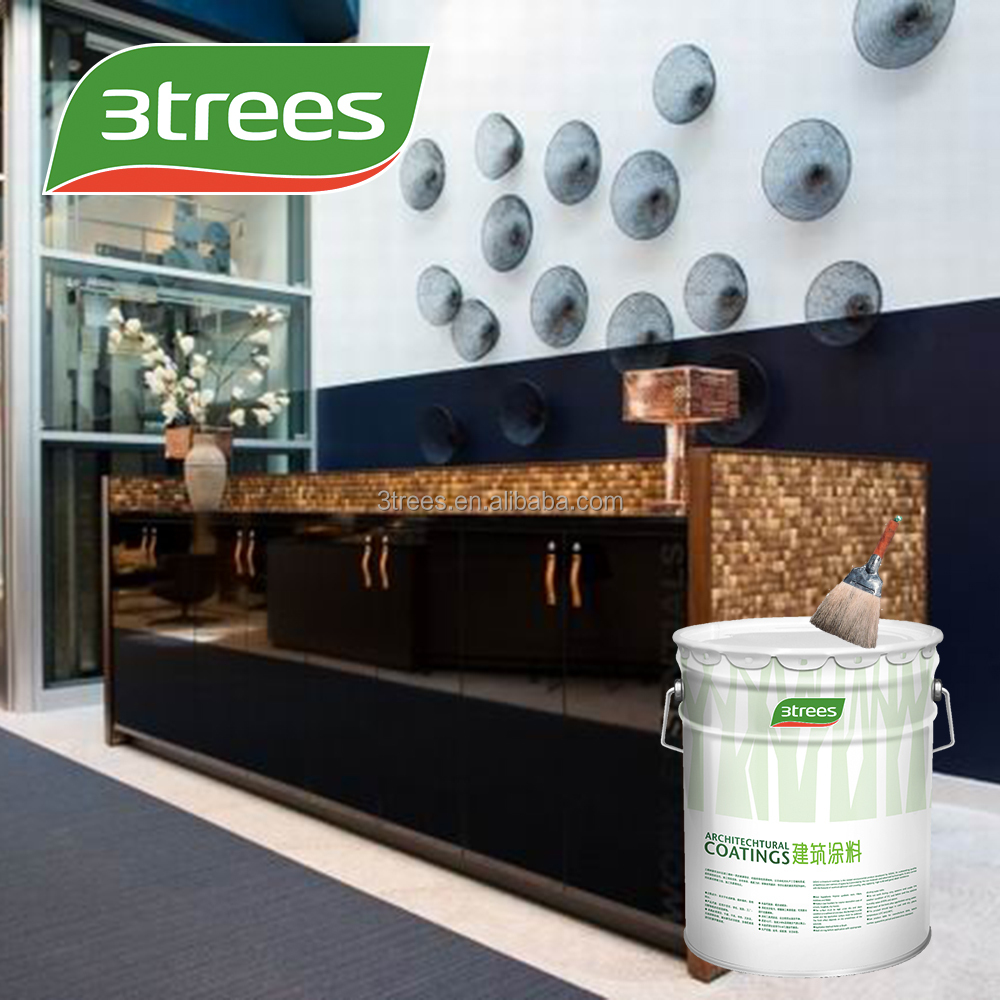 3TREES Main Raw Material and Appliance Paint For Interior Wall