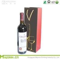 High quality wine bag / gift bag / paper bag for alcohol or tobacco