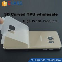 Alibaba china supplier 0.1mm 0.2mm full TPU screen protector for sony xperia z