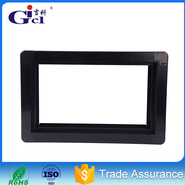 Gicl 11530S double face aluminum extrution profiles for advertising frame colored
