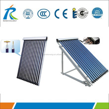 Flat Roof Heat Pipe Vacuum Tubes Solar Collector