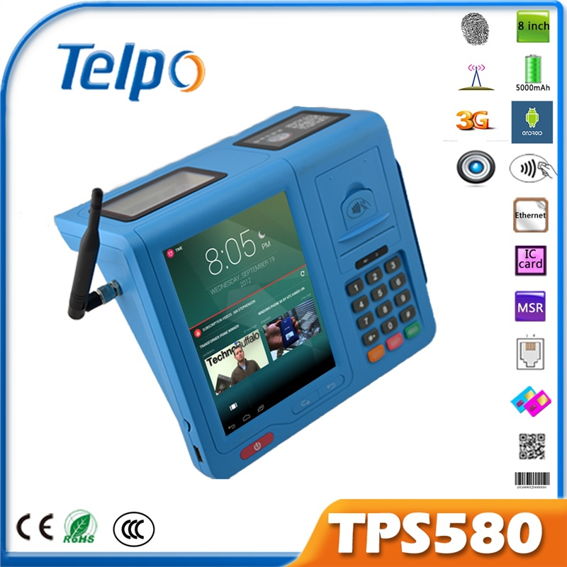 Telpo New Product TPS580 GPRS Hardware and Software POS