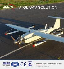 Oil powered long range fixed wing UAV drone
