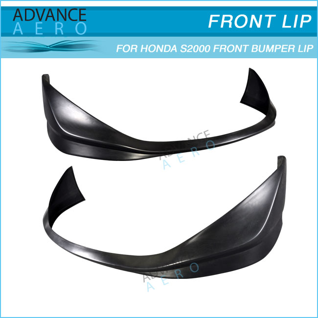 FOR 04-09 HONDA S2000 CR-S STYLE POLY URETHANE PU FRONT BUMPER LIP SPOILER BODY KITS
