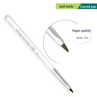 Zero Nana Free sample Nail Art Nail Phototherapy Carving Pen Brush