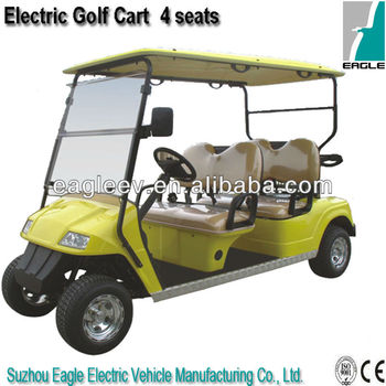 4 seater Electric Golf trolley club car