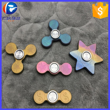 EDC anti stress titanium spinner with Britain imported tungsten steel ball bearings