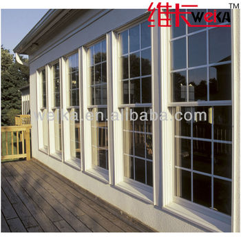 PVC modern america double glazed garden windows lowes