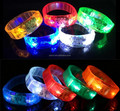 motion sensor led flashing running bracelets paypal accept