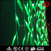 2016 nice LED christmas decorative willow curtain lights