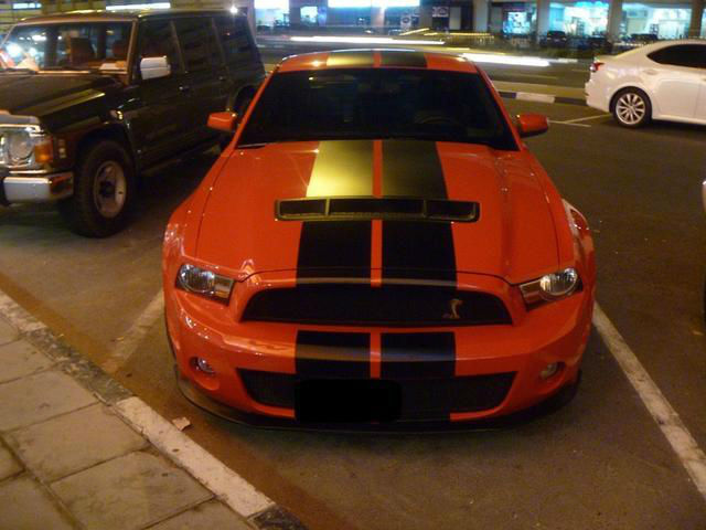 Ford MustanG Shelby 2010 FULL SVT + Navigation System (Full Option)