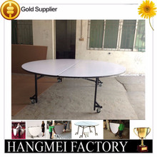 6FT Activity Collapsible round table with casters