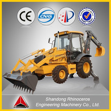 mini tractor backhoe loader with 0.3m3 bucket capacity for sale by china