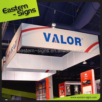 Outdoor Exhibition Ceiling Hanging Banner