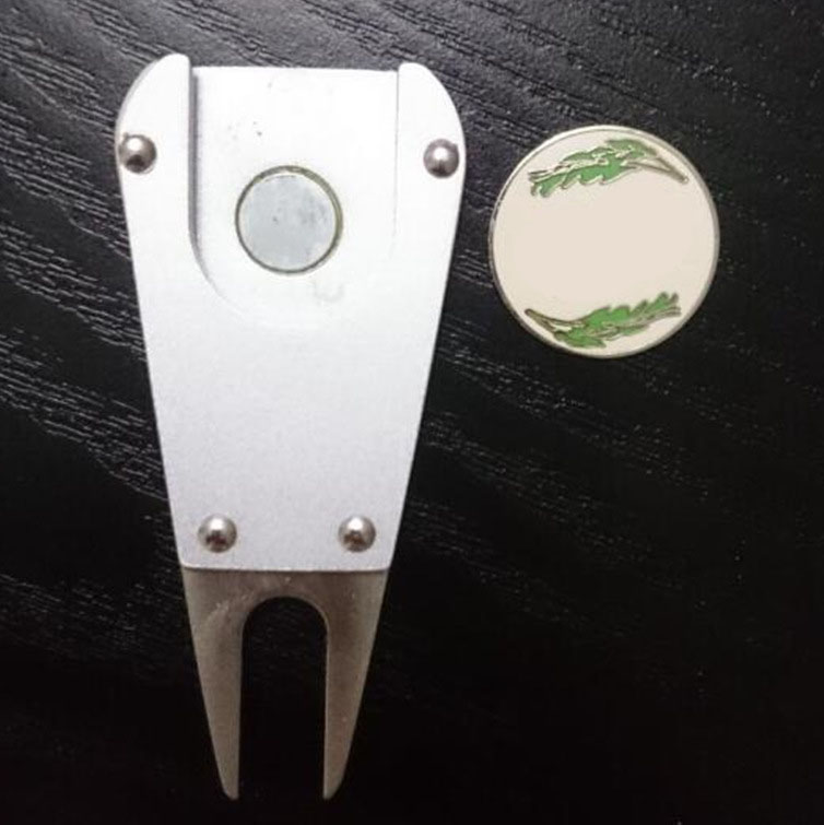 Wholesale golf pitch repair tool/metal fork for promotion